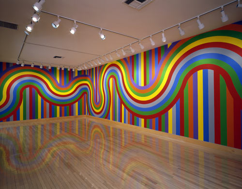 Sol LeWitt, Wall Drawing #1136 (2004, paint on wall surface, dimensions as installed.) San Francisco, Fraenkel Gallery. Image source: http://www.tate.org.uk. Image © Tate. Permission to use image obtained from Tate's Picture Library Executive (Amelia Morgan).