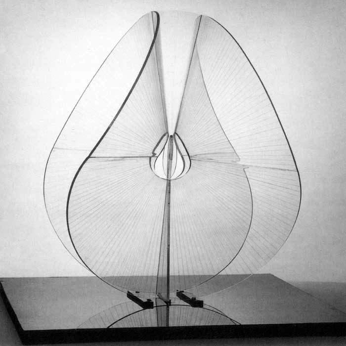 Naum Gabo, Spheric Theme: Translucent Variation (c.1937, this version executed 1951, perspex, diameter 57.3 cm.) New York, Solomon R. Guggenheim Museum. Image source: http://www.tate.org.uk. Image © Tate. Permission to use image obtained from Tate's Picture Library Executive (Amelia Morgan).